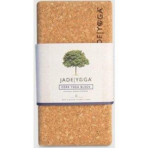 Jade Yoga Cork Yoga Block Small