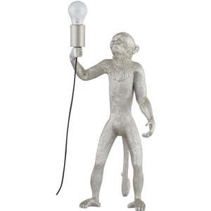 Chip The Monkey Standing Silver Table Lamp 21458