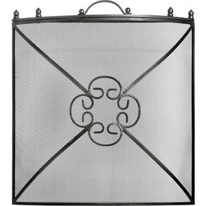 Mesh Fireguard In Antique Pewter Effect Finish 11425