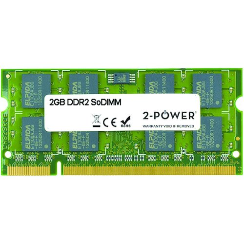 2-power 2gb Ddr2 800mhz Sodimm Memory - Replaces 530790-001 2p 530790 001