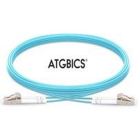 Atgbics 35-0020lclc-c Fibre Optic Cable 2 M Lc/upc Ofnr Om3 Aqua Colour