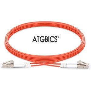 Atgbics Cab-om2-lc-lc-5m-d Fibre Optic Cable Lc/upc Ofnr Orange