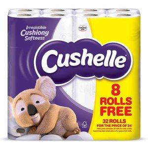 Cushelle T/roll 32f24 White Pk32 1102090