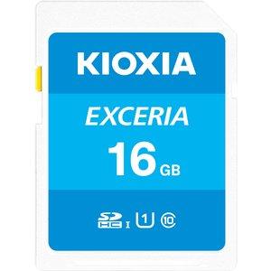 Kioxia Exceria Memory Card 16 Gb Sdhc Uhs-i Class 10 Lnex1l016gg4