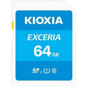 Kioxia Exceria Memory Card 64 Gb Sdxc Uhs-i Class 10 Lnex1l064gg4