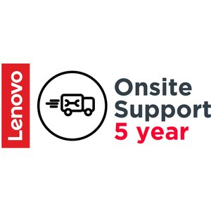 Lenovo 5 Year Onsite Support (add-on) 5ws0d80899