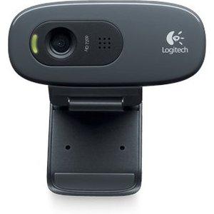 Logitech C270 Webcam 3 Mp 1280 X 720 Pixels Usb Black 960 000635