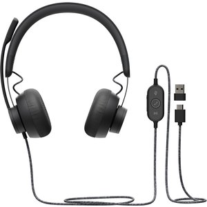 Logitech Zone Wired Teams Headset Head-band Usb Type-c Black 981 000875
