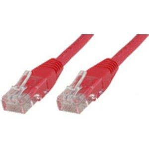 University Of California Press Microconnect Cat6 U/utp 10m Networking Cable Red U/utp (utp) Utp610r