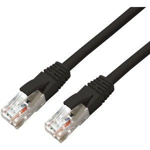 University Of California Press Microconnect Mc-utp6a005s Networking Cable Black 0.5 M Cat6a U/utp (utp)