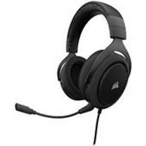Corsair Hs50 Stereo Gaming Headset Carbon - Pc/console Ca 9011170 Eu