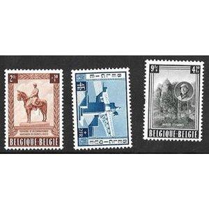 Belgium 1954 Sg1531/3 Set Of Three Collectibles