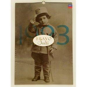 Bravo Solti - 1993 Decca Calendar Collectibles