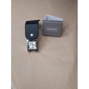 Dulwich Design Square Pocket Alarm Clock  Bnib Home Accessories