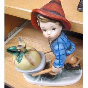 Friedel Bavaria Boy With Pumpkin In Barrow 6 Statue Home Accessories