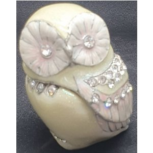 Owl Ceramic Trinket Pot Or Ring Holder Home Accessories