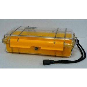 Peli Waterproof Micro Case No. 1060 - Approximately 9 Inches By 5.5 Inches By 2.5 Inches O Home Accessories