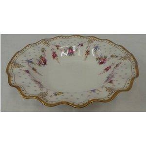 Royal Crown Derby Royal Antoinette Fine Bone China Rimmed Soup Bowl Home Accessories