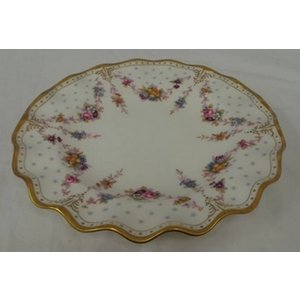 Royal Crown Derby Royal Antoinette Fine Bone China Dinner Plate Home Accessories
