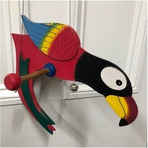 Spinning Wooden Parrot Other Gadgets