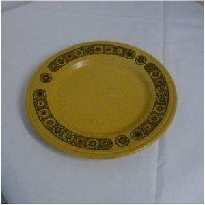 Vintage Kiln Craft Bacchus Pattern Dessert Plate X 6 Home Accessories
