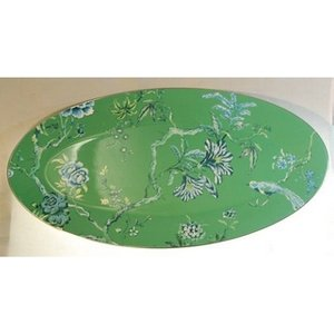 Wedgwood Chinoiserie Green Oval Platter By Jasper Conran Home Accessories