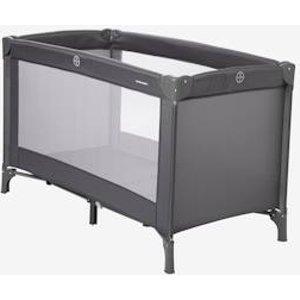 Vertbaudet First'bed Travel Cot Blue Dark Solid 703280098