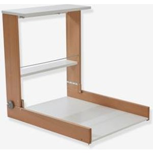 Vertbaudet Wall Mounted Changing Table Beige Medium Solid 703400225