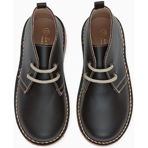La Coqueta Black Nappa Desert Boots Shunboba0002bla024, Black