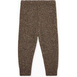La Coqueta Dark Brown Roma Baby Knitted Trousers Btsttr180002dbr12m, Dark Brown