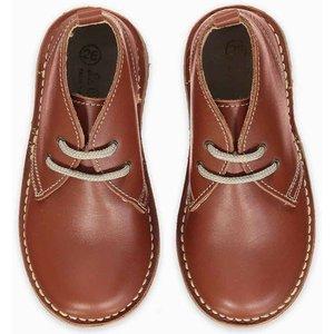 La Coqueta Dark Tan Nappa Desert Boots Shunshba0012dtn033, Dark Tan