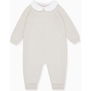 La Coqueta Grey Emilio Merino Baby Playsuit Btnekn180004gry06m, Grey