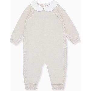 La Coqueta Grey Emilio Merino Baby Playsuit Btnekn180004gry12m, Grey
