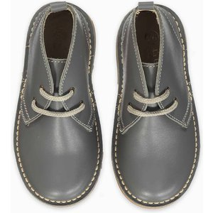 La Coqueta Grey Nappa Desert Boots Shunshba0013gry031, Grey