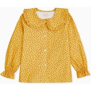 La Coqueta Mustard Marigold Girl Shirt Gishsh180009mus07y, Mustard