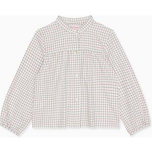 La Coqueta White Adrian Baby Shirt Btshsh180013wht12m, White