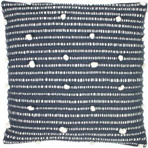 Riva Home Dalia Charcoal Cushion