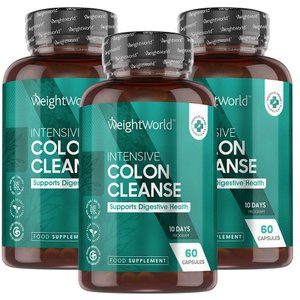 Weightworld Maxmedix Intensive Colon Cleanse - Colon Cleanse Supplement - 3 Packs