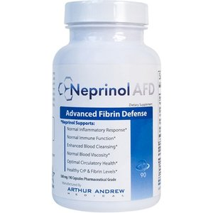 Arthur Andrew Medical Neprinol Afd - 500mg. 90 Caps - Natural & Effective Cure Of Penile Curve With Zero Sid Health