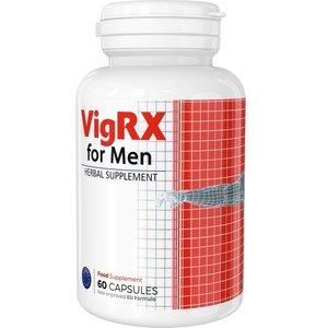 Vigrx - 60 Capsules - Herbal Supplement For Male Enhancement Health