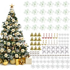 Yellogoods 120-piece Christmas Tree Decoration Set - 3 Colours Home Accessories