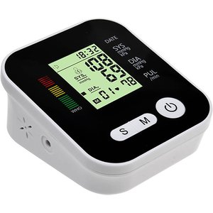 Domosecret 4-in-1 Blood Pressure Monitor With Lcd Display + Voice Function Gadgets
