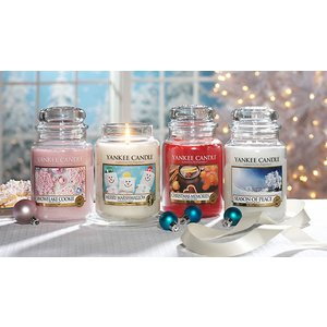 Yankee Bundles 6 Assorted Large Festive Yankee Candles Home Accessories