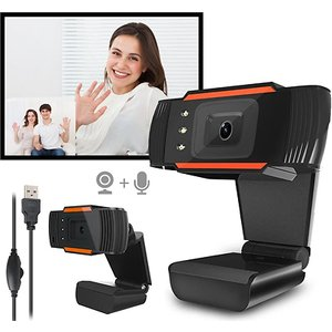 Eclife Style 720p Or 1080p Adjustable Webcam With Microphone Gadgets