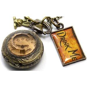 Ugoagogo Drink Me Pocket Watch Mens Jewellery