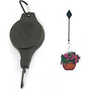 Paperdollz Ltd Height-adjustable Hanging Basket Pulley Hook Garden