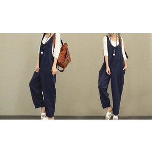 Domosecret Loose Fit Jumpsuit - 3 Colours & 5 Sizes Clothing Accessories