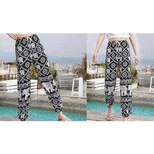 Domosecret Printed Harem Trousers - 4 Colours & 4 Sizes Clothing Accessories