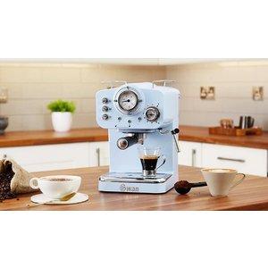 J Star Uk Swan Retro-style Espresso Coffee Machine - 4 Colours Home Accessories