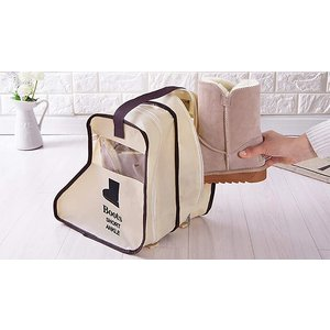 Domosecret Waterproof Boots Carrier With Handle - 2 Colours & 2 Sizes Home Accessories